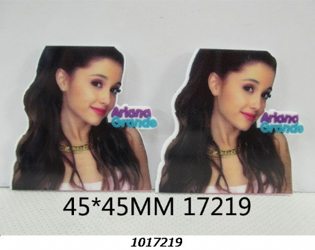 5 x 45MM ARIANA GRANDE LASER CUT FLAT BACK HEADBANDS BOWS CARD MAKING PLAQUES